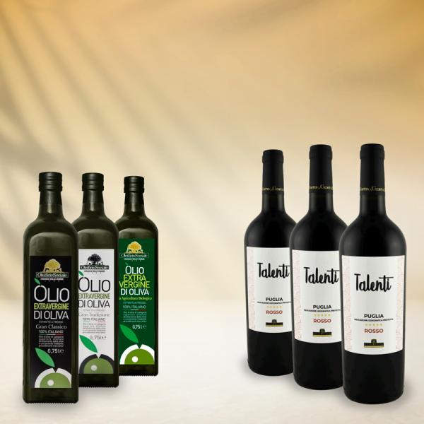 set-olio-vino-oleificio-cassano-murge